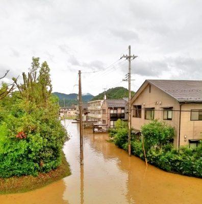 台風の水害被害にあった場合に必要な消毒について考えます